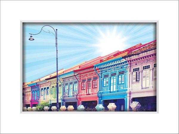 Colourful Shophouses