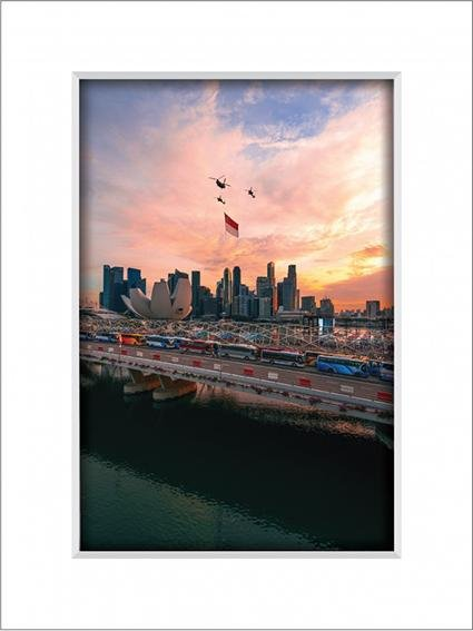 Singapore  Sunset 2