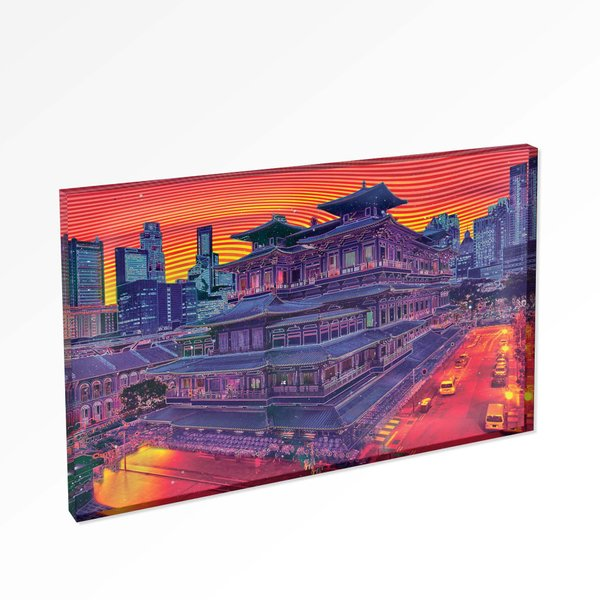 Buddha Tooth Relic Temple 3 Magnet