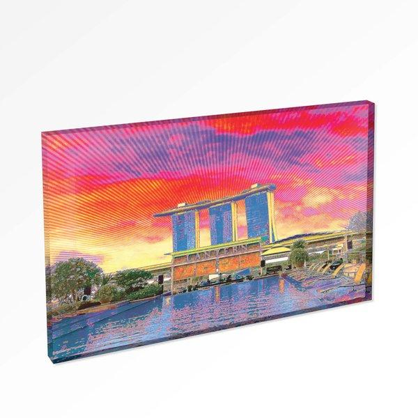 Marina Bay Sands 2 Magnet