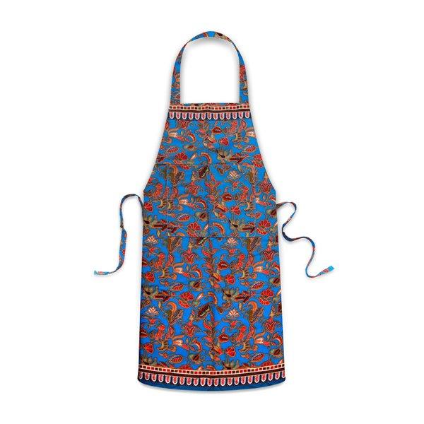 Batik Apron, BLUE