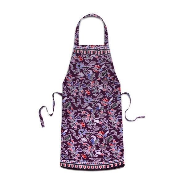 Batik Apron, Purple