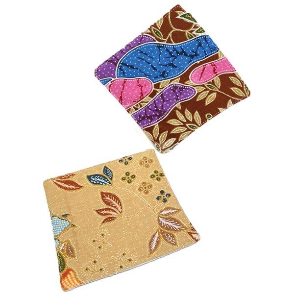 Batik Coasters (set of 2) by Art Adornment, Design 2