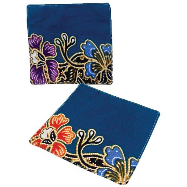 Batik Coasters (set of 2) by Art Adornment, Design 3
