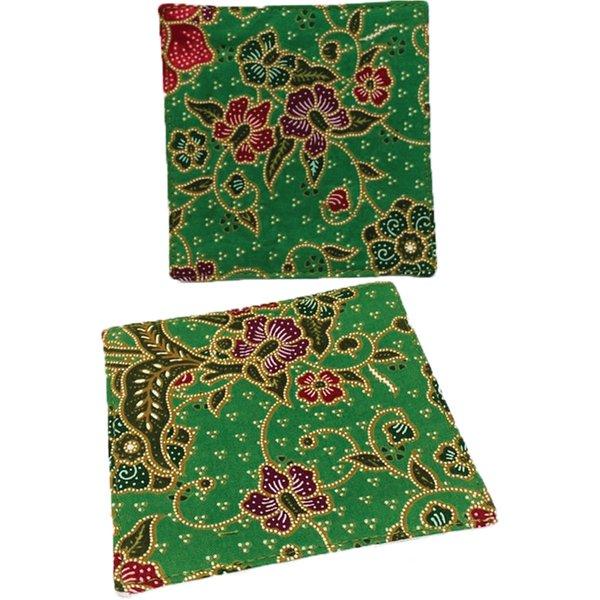 Batik Coasters (set of 2) by Art Adornment, Design 4