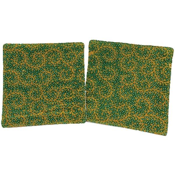 Batik Coasters (set of 2) by Art Adornment, Design 6