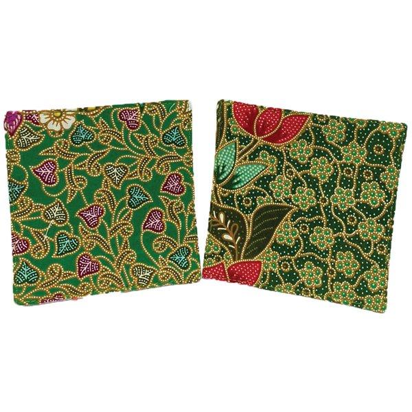 Batik Coasters (set of 2) by Art Adornment, Design 9