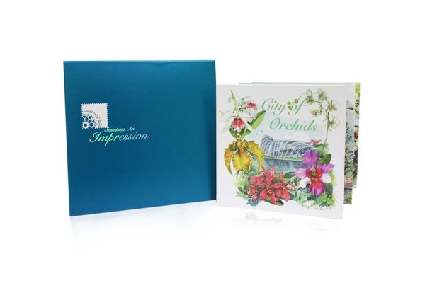 City of Orchids Coffee Table Book