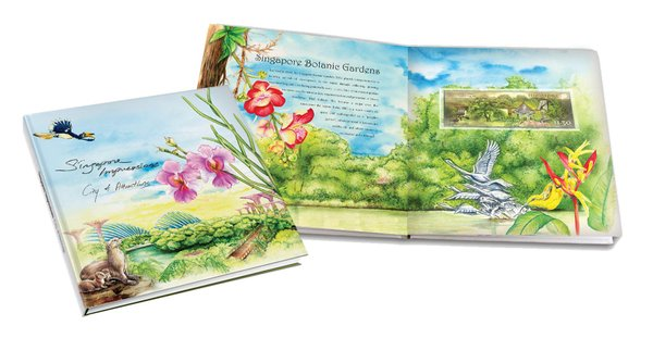 Singapore Impression - City of Attractions Coffee Table Book