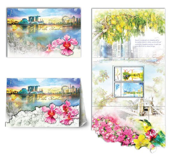 City in A Garden Collection - Greetings from Singapore