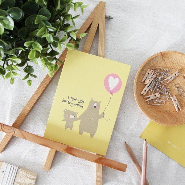 Bear Love Greeting Card