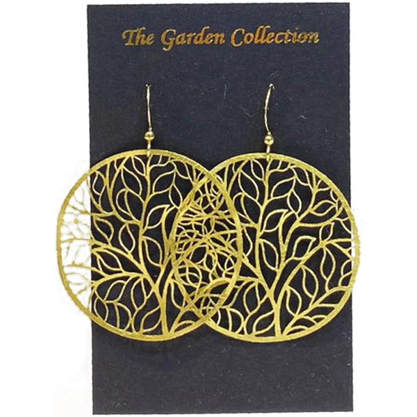 Heritage Collection Earrings by Art Adornment, Garden 1