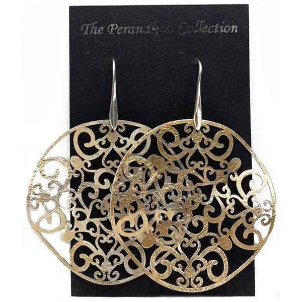 Heritage Collection Earrings by Art Adornment, Peranakan 2