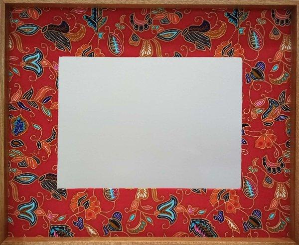 Red Batik Frame