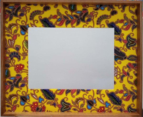 Yellow Batik Frame