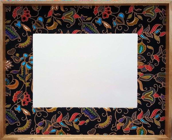 Black Batik Frame