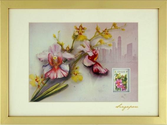 City in A Garden Collection - Vanda Ms Joaquim Art Print