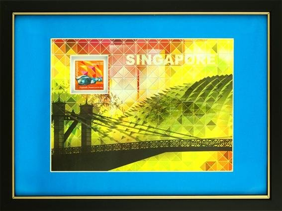 Iconic Landmark Collection - Cavenagh Bridge & Esplanade Artprint