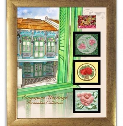 The Peranakan Collection - Tile Series - Peranakan Series IV
