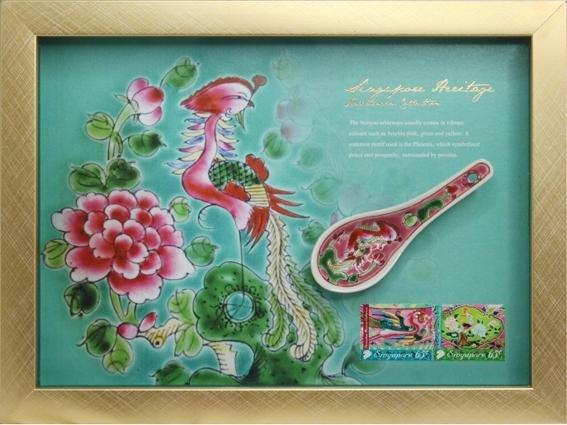 The Peranakan Collection: Prosperity Porcelain Dessert Spoon