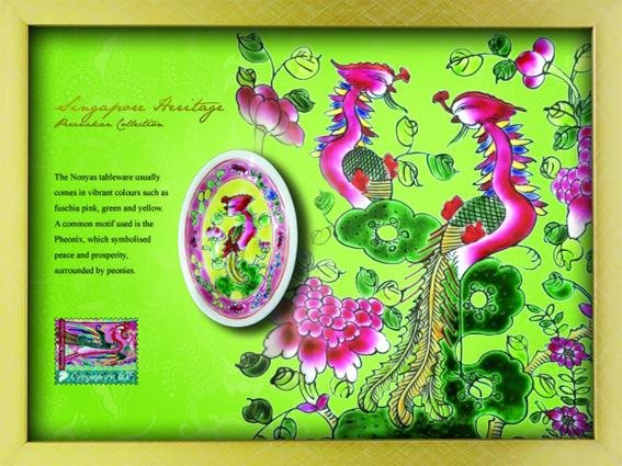 The Peranakan Collection: Prosperity Porcelain Saucer
