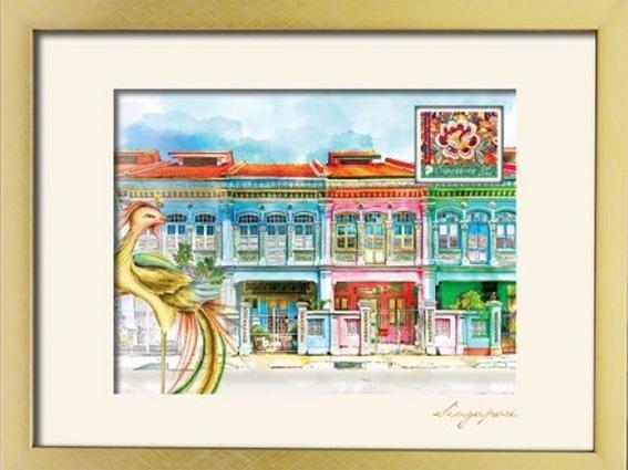 The Peranakan Collections- Shophouses Artprint 3