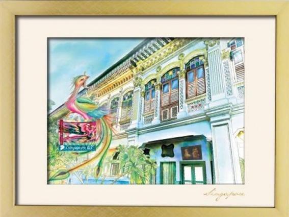 The Peranakan Collections- Shophouses Artprint 4