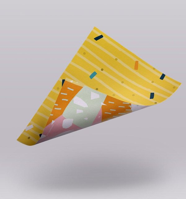 Wrapping Paper 01 (Yellow)