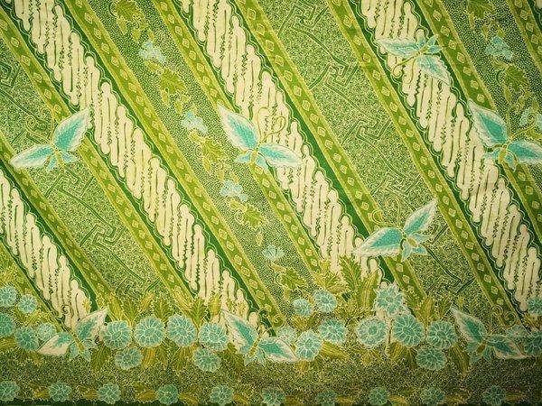 Batik Hand Drawn Fabric 2