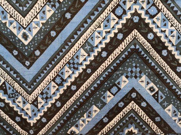 Batik Hand Drawn Fabric 4