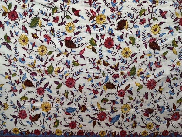 Batik Hand Drawn Fabric 7
