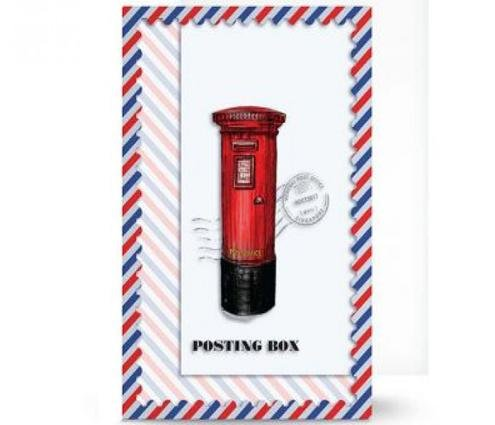 Posting Boxes of Singapore Collection - A4 Plastic File