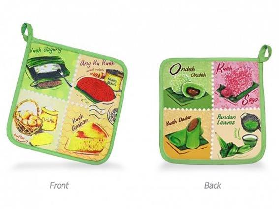 Local Delights Collection - Pot Coaster (Ang Ku Kueh)