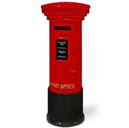 Posting Boxes of Singapore Collection - Red Posting Coin Box