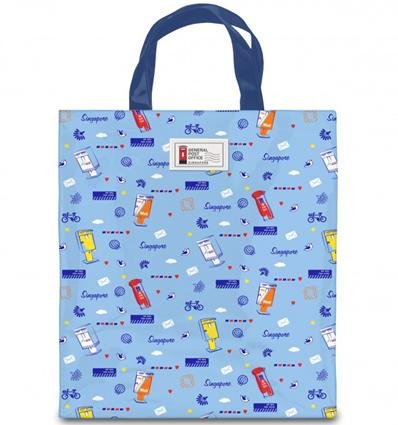 Posting Boxes of Singapore Collection - Tote bag
