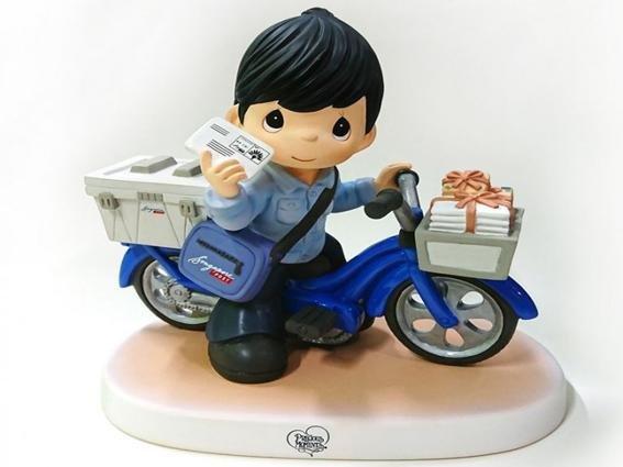 SingPost Precious Moment Postman Figurine