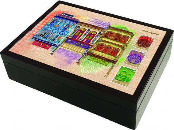 Singapore Traditional Sites - Lacquer Box