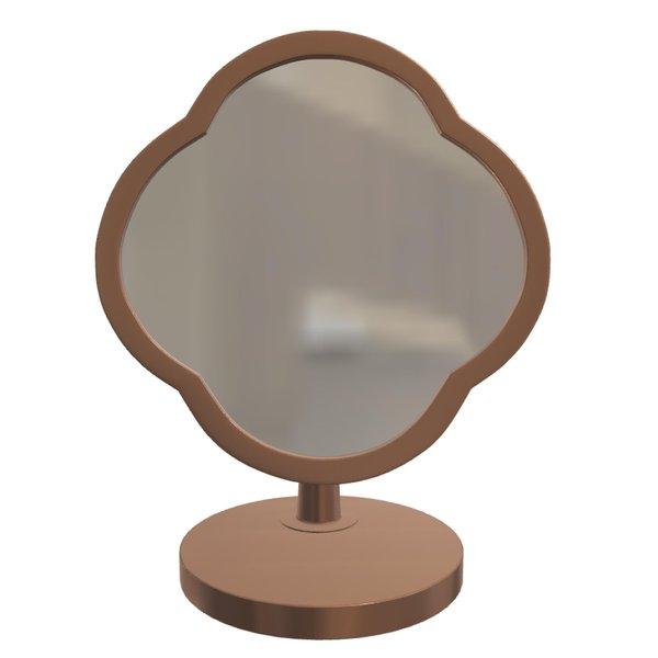 Peranakan Desk Mirror, Rose Gold Frame