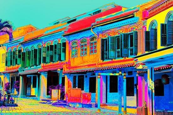 Emerald Hill Shophouses - Aqua