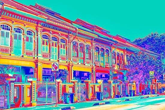 Joo Chiat Shophouses - Aqua