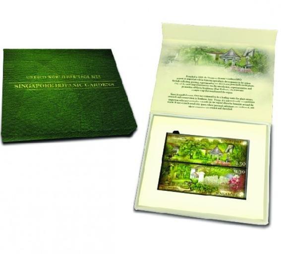 Botanic Gardens Stamps Magnet Set