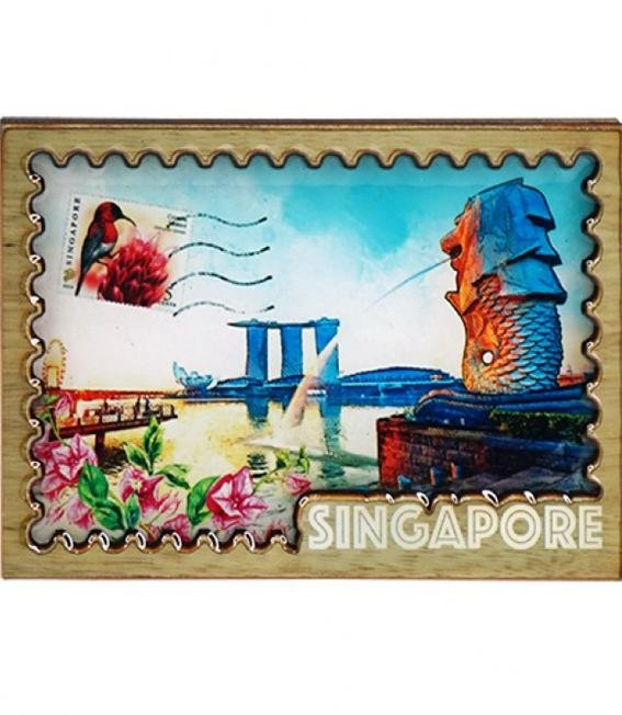 CIAG II Merlion Magnet Collection