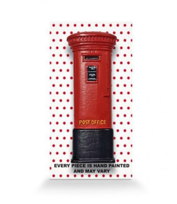 Posting Boxes of Singapore Collection - Red Posting Box 3D Magnet