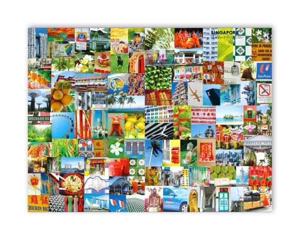 Singapore Complete Plastic Placemat