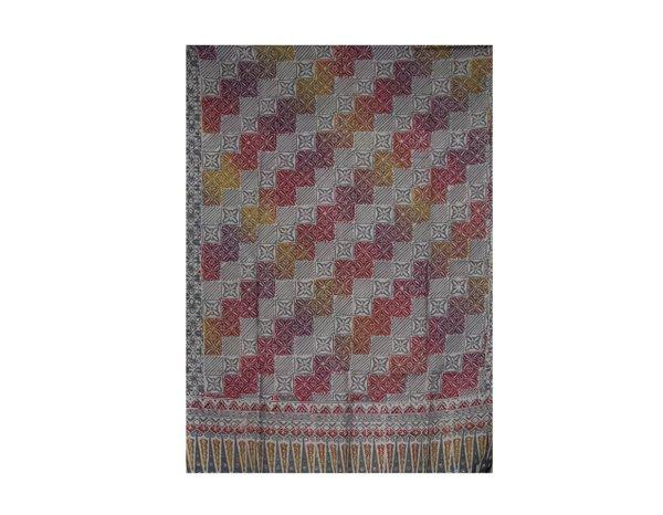 Batik Cotton Mixed Rayon Shawl 2