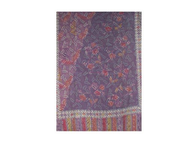 Batik Cotton Mixed Rayon Shawl 5