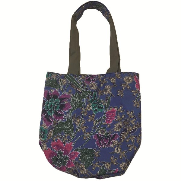 Reversible Tote Bag by Art Adornment, Blue