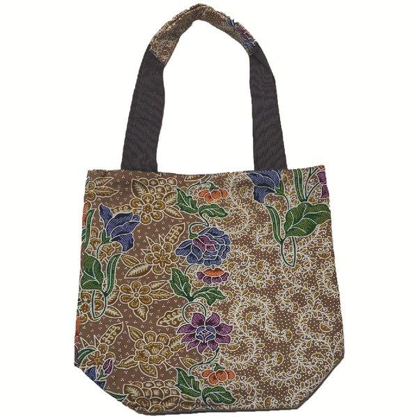 Reversible Tote Bag by Art Adornment, Khaki