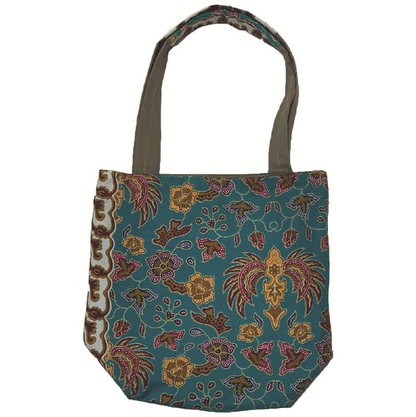 Reversible Tote Bag by Art Adornment, Teal