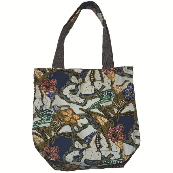 Reversible Tote Bag by Art Adornment, White